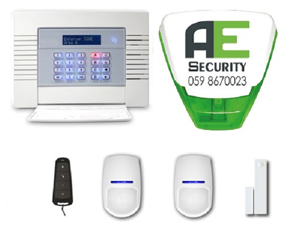 Pre–Wired Alarm System €499